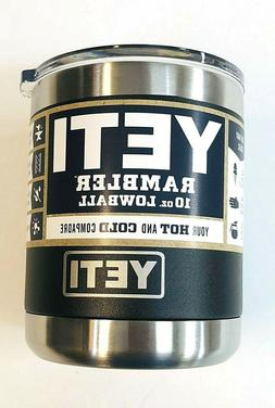 YETI Rambler 10oz Vacuum Insulated Stainless Steel Lowball B