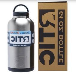 rtic 36oz 64oz bottle rambler hot cold