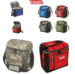 SALE NEW Coleman 16-Can Soft Coolers With Hard Liners, Multi