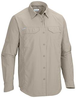 Columbia Silver Ridge Long Sleeve Shirt, Large, Fossil