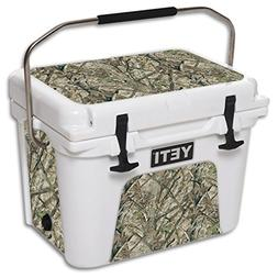 MightySkins Skin for YETI 20 qt Cooler - HTC Fall | Protecti