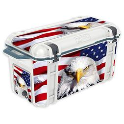 MightySkins Skin for OtterBox Venture 65 qt Cooler - America