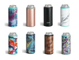 Skinny Can Cooler Slim Insulated Coozy Cup from Swig 12 oz