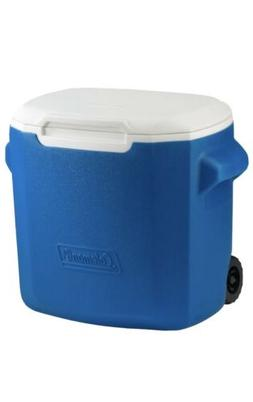 Coleman Small Cooler With Wheels 28 Quarts