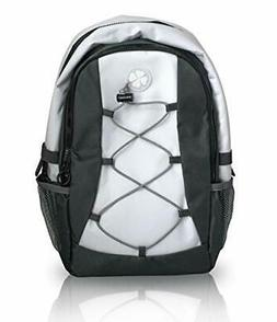Soft White Sports Cooler Backpack - Small Insulated Leak Pro