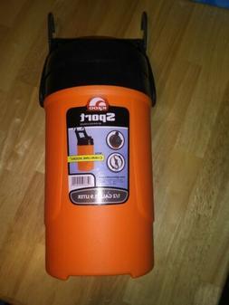 Igloo Sport Beverage Cooler 1/2 Gallon With Hanging Hooks Bl