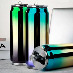 Stainless Steel Coffee Cup Cola Cans Drinking Water Cooler B