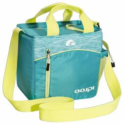 Igloo Stowe Mini City 9 Insulated Soft Cooler, Aqua, 7 Large