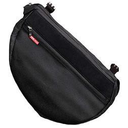 Infant Skip Hop Stroller Saddle Bag, Size One Size - Black