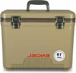 Sturdy Cooler/Dry Box - Excellent Lunch Box w/ Secure Latche