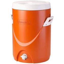 Coleman 5-Gallon Team Cooler, Orange