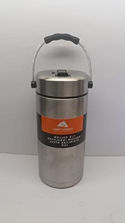 NEW!! Ozark Trail 1/2 Gallon Thermos W/Pop up Straw Double W