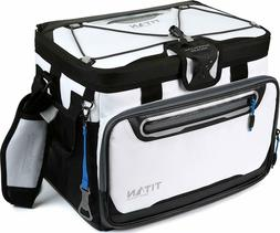 Arctic Zone Titan Deep Freeze 30 Can Zipperless Cooler White