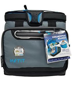 Titan Deep Freeze Zipperless Cooler Bag by Arctic Zone with