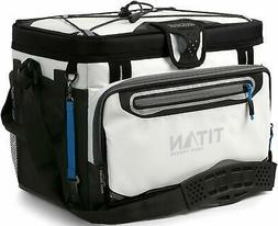 Arctic Zone Titan Zipperless Cooler White 30 Can