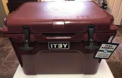 Yeti Tundra 35 Maroon Limited Edition Chris Stapleton Cooler