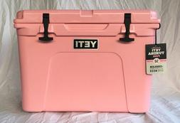 YETI Tundra 50 PINK Cooler Limited Edition Color w/ Hat NEW