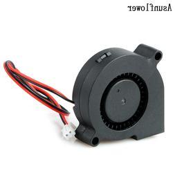 Turbine DC Blower <font><b>Small</b></font> Fan 5015 Industr