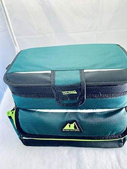 Arctic Zone Ultimate Zipper-Less coldlok Cooler in Green wit