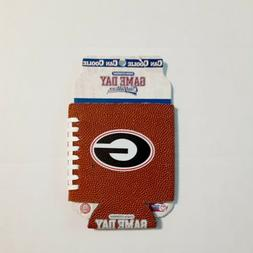 University of Georgia Bulldogs Faux Leather Can Holder Coole