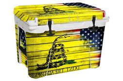 USATuff Wrap Decal Full Kit fits YETI Tundra 65 Cooler USA D