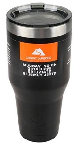 Ozark Trail 40 oz Vacuum Insulated Stainless Steel Tumbler P