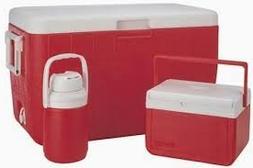 Coleman 3 piece value set - 48-Quart Cooler with 5-Quart Coo