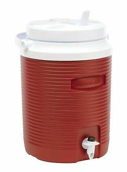 Rubbermaid Victory Jug Water Cooler, Modern Red, 2-gallon