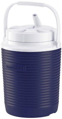 Rubbermaid 1 Gallon Blue Victory Thermal Jug Water Coolers