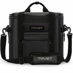 TOURIT Voyager 20 Cans Black Extra Large Capacity Soft Coole