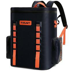 TOURIT Voyager Backpack Navy Blue 36 Cans Extra Large Capaci
