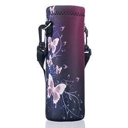 AUPET Water Bottle Carrier,Insulated Neoprene Water Bottle H