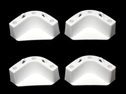 JSP White Boat Marine Cooler Mounting Kit for Yeti Igloo Eng
