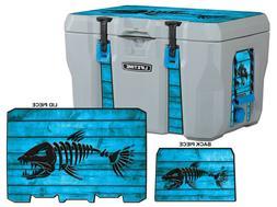 USATuff Wrap Decal L+I Kit fits Lifetime 28, 55, 77 Cooler -