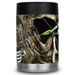 Yeti Colster RTIC Can Cooler Vinyl Wrap Bow Hunting Reaper B