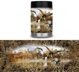 Yeti Colster RTIC Can Cooler Vinyl Wrap Camo Duck Hunting Be