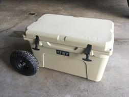 "Yeti Cooler 45 Wheel Tire Axle Kit ""THE HANDLE"" Accessory In"